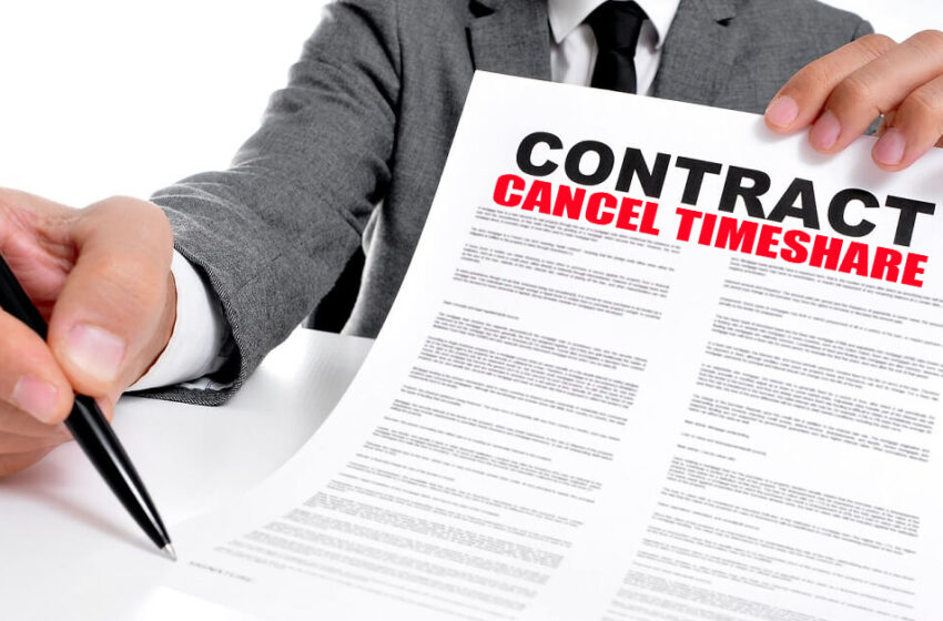 Hiring timeshare cancellation companies to cancel a timeshare contract
